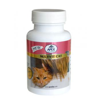 Apex Cat Vitax Kedi Multi Vitamini 75 Adet