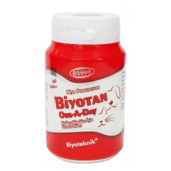 BiyoTeknik Biyotan One A Day Tablet 60 Adet