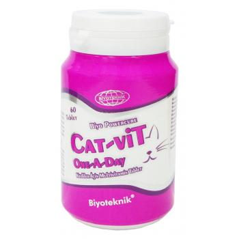 BiyoTeknik Cat Vit Kedi One A Day 60 Tablet
