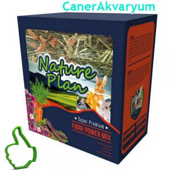 Nature Plan Fibre Power Mix Özel Kemirgen Yemi 700 gr