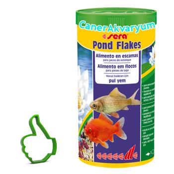 Sera Pond Flakes 1000 ML 180 Gr Pul Yem
